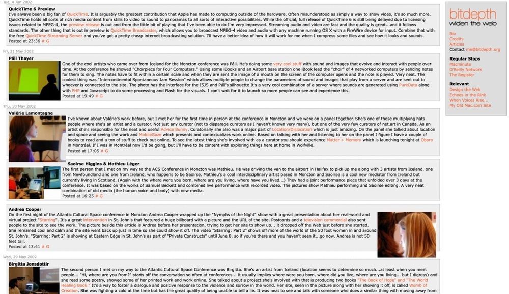 bitdepth.org in 2002