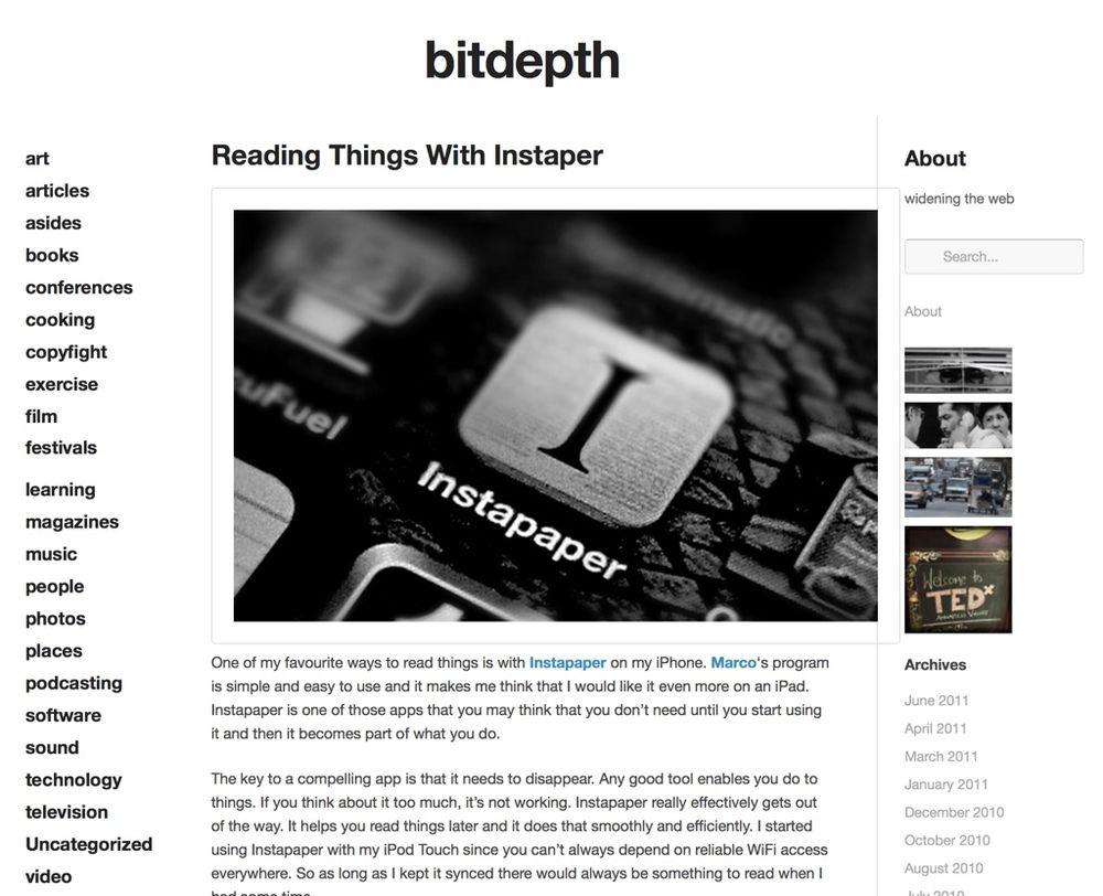 bitdepth.org in 2011