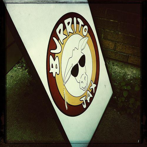 Burrito Jax Sign