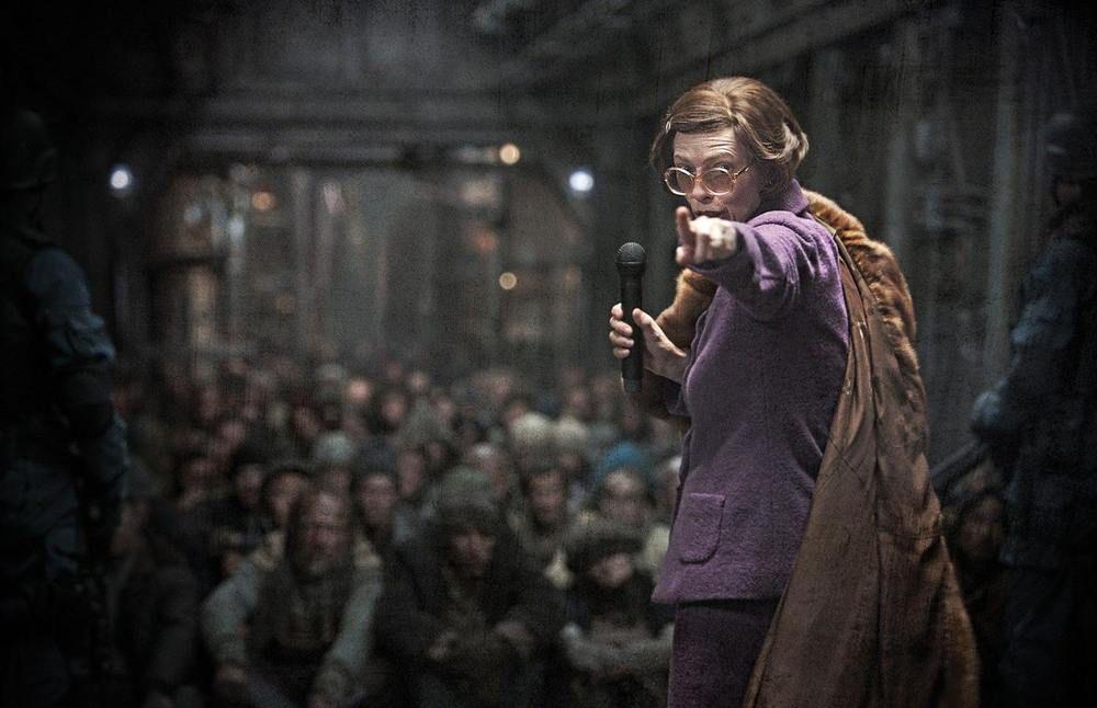 Tilda Swinton in Bong Joon Ho's Snowpiercer