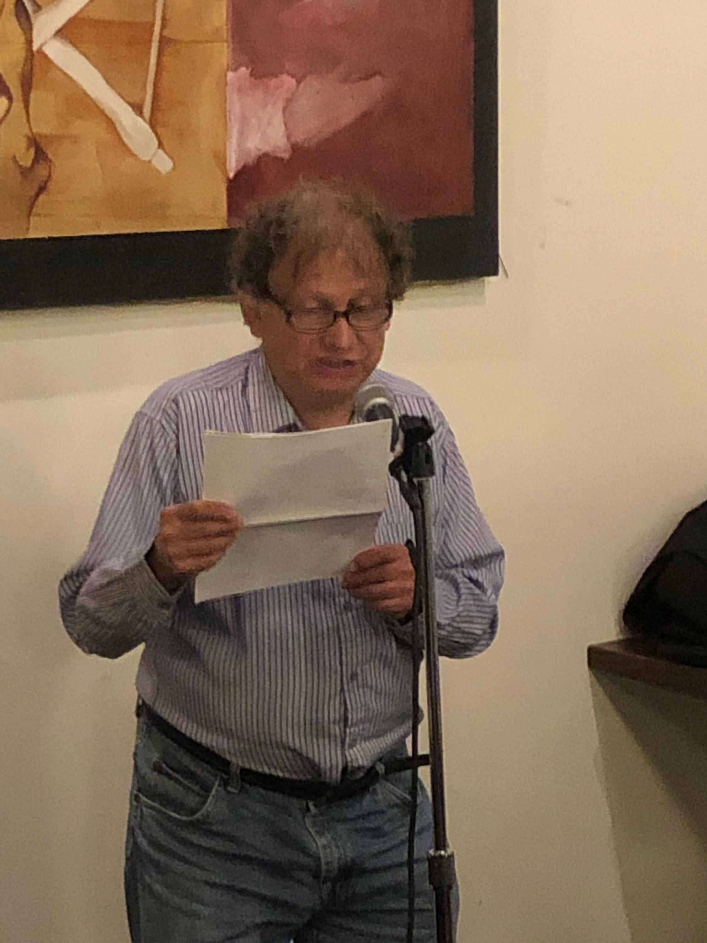 herb rubenstein at first tuesdays, sept 3