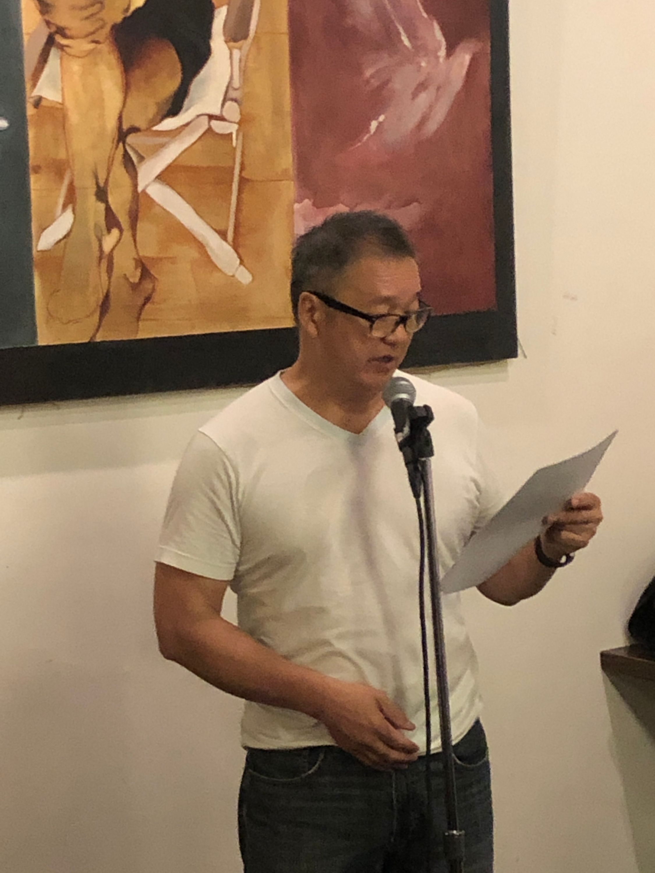 malcolm chang at first tuesdays, sept 3