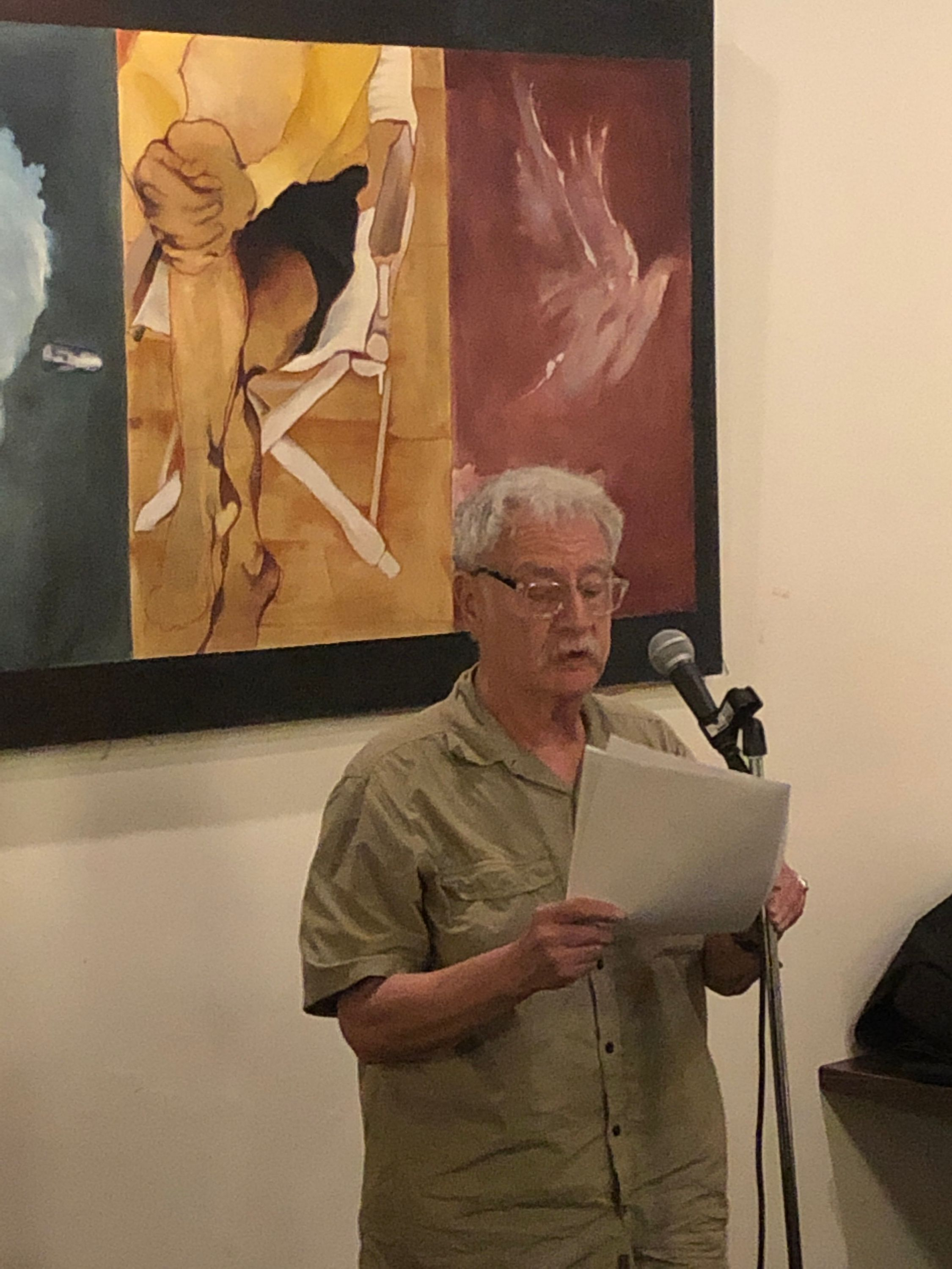 henry sussman at first tuesdays, sept 3