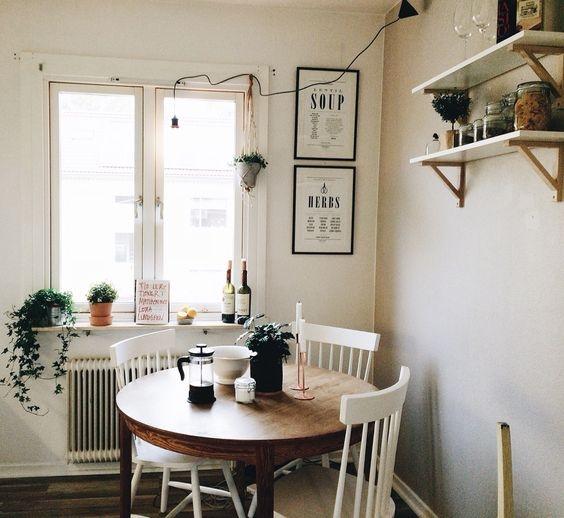 [kitchen] circle table