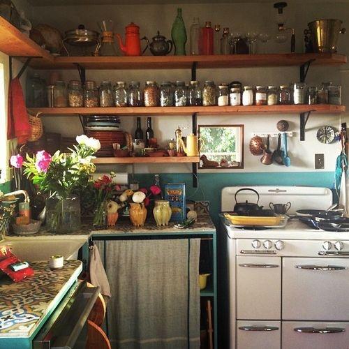 [kitchen] open shelves copy