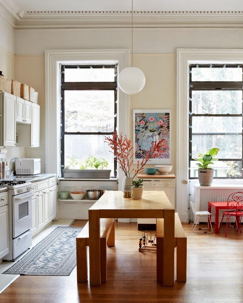 [kitchen] kitchen-inspiration-brooklyn-apartment-house-tour-cupofjo
