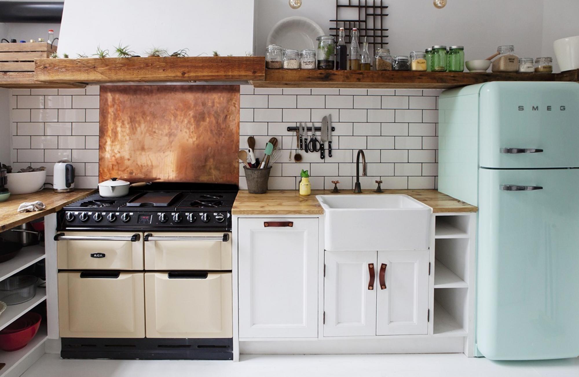[kitchen] fridge counter sink