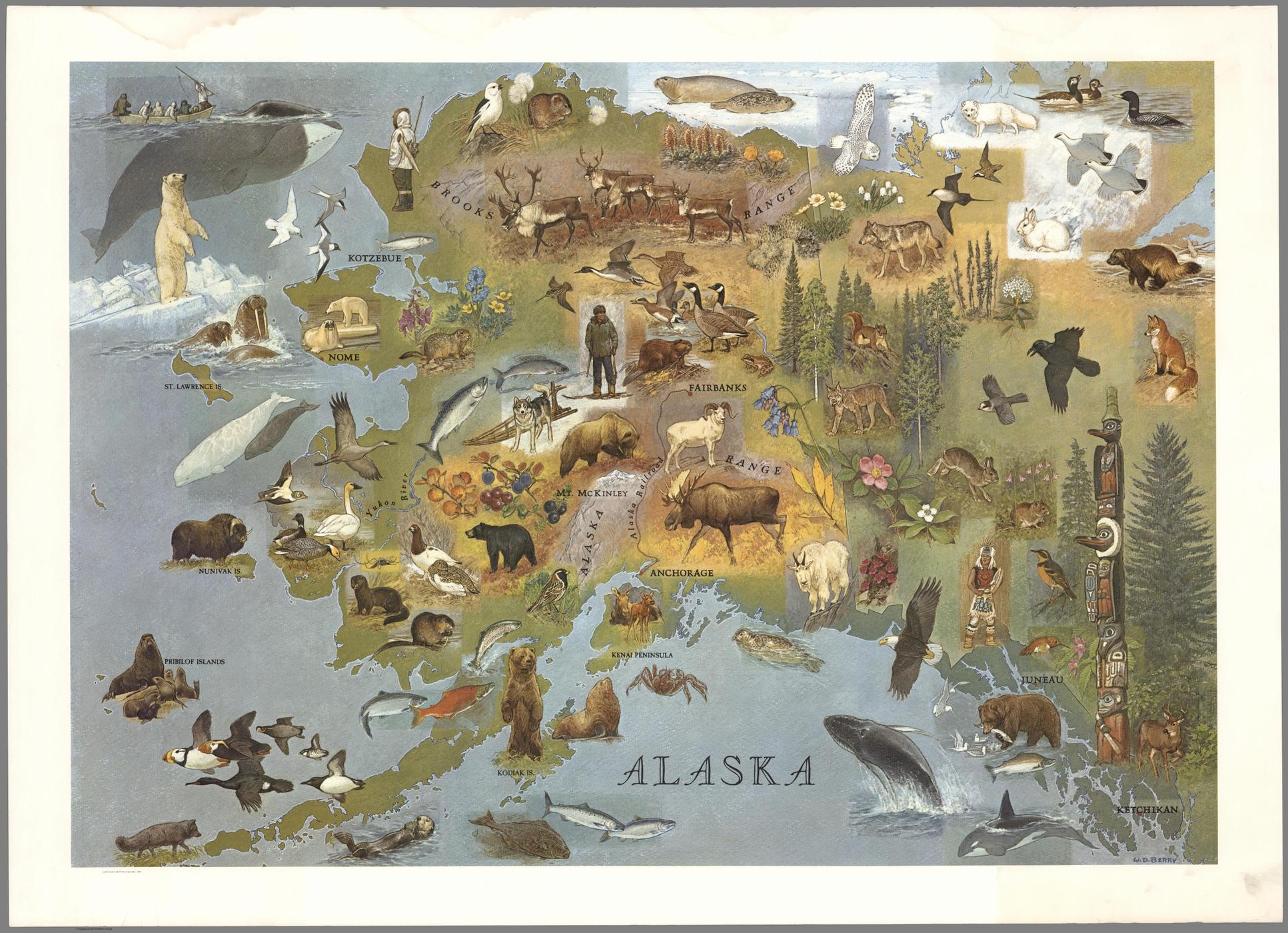 [illustration] [map] alaska