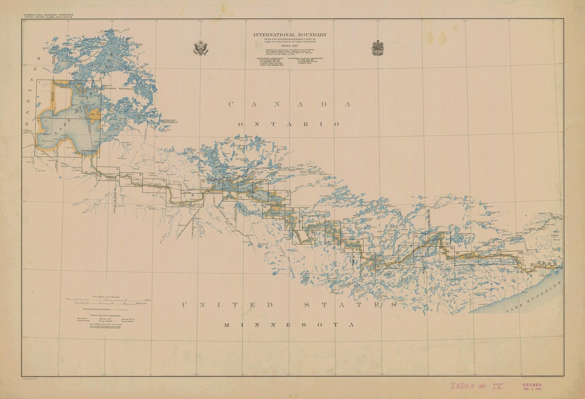 [map] minnesota lakes