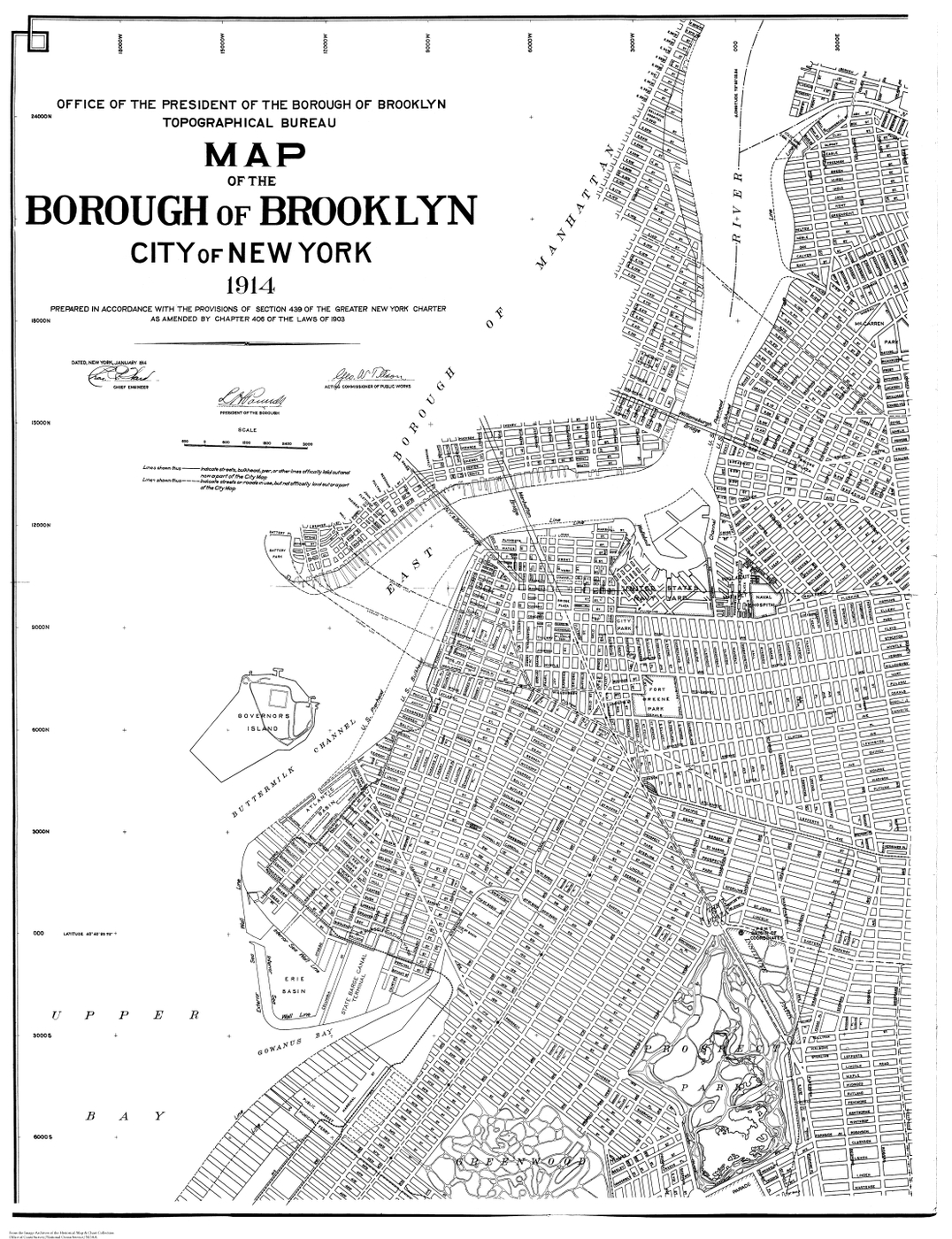 [map] [brooklyn] [new york] BOB