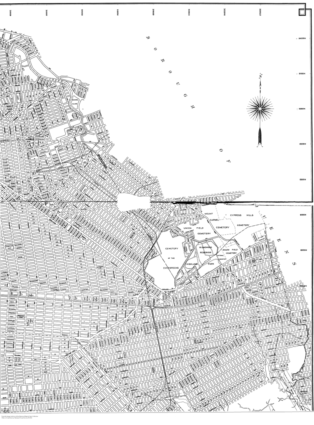 [map] [brooklyn] [new york] BOQ