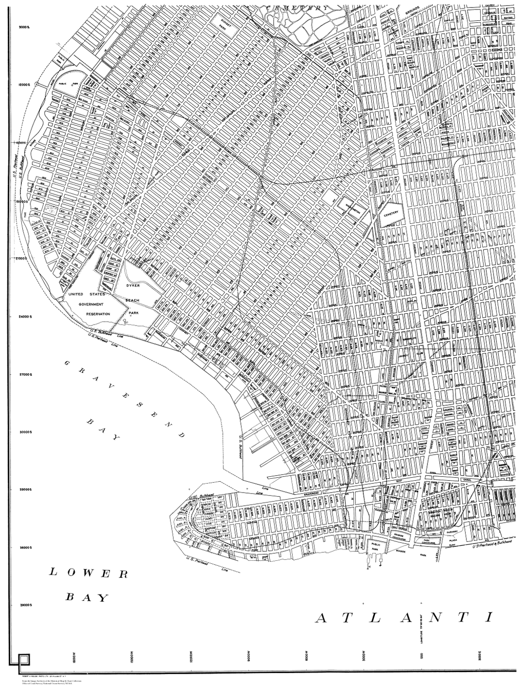 [map] [brooklyn] [new york] LB