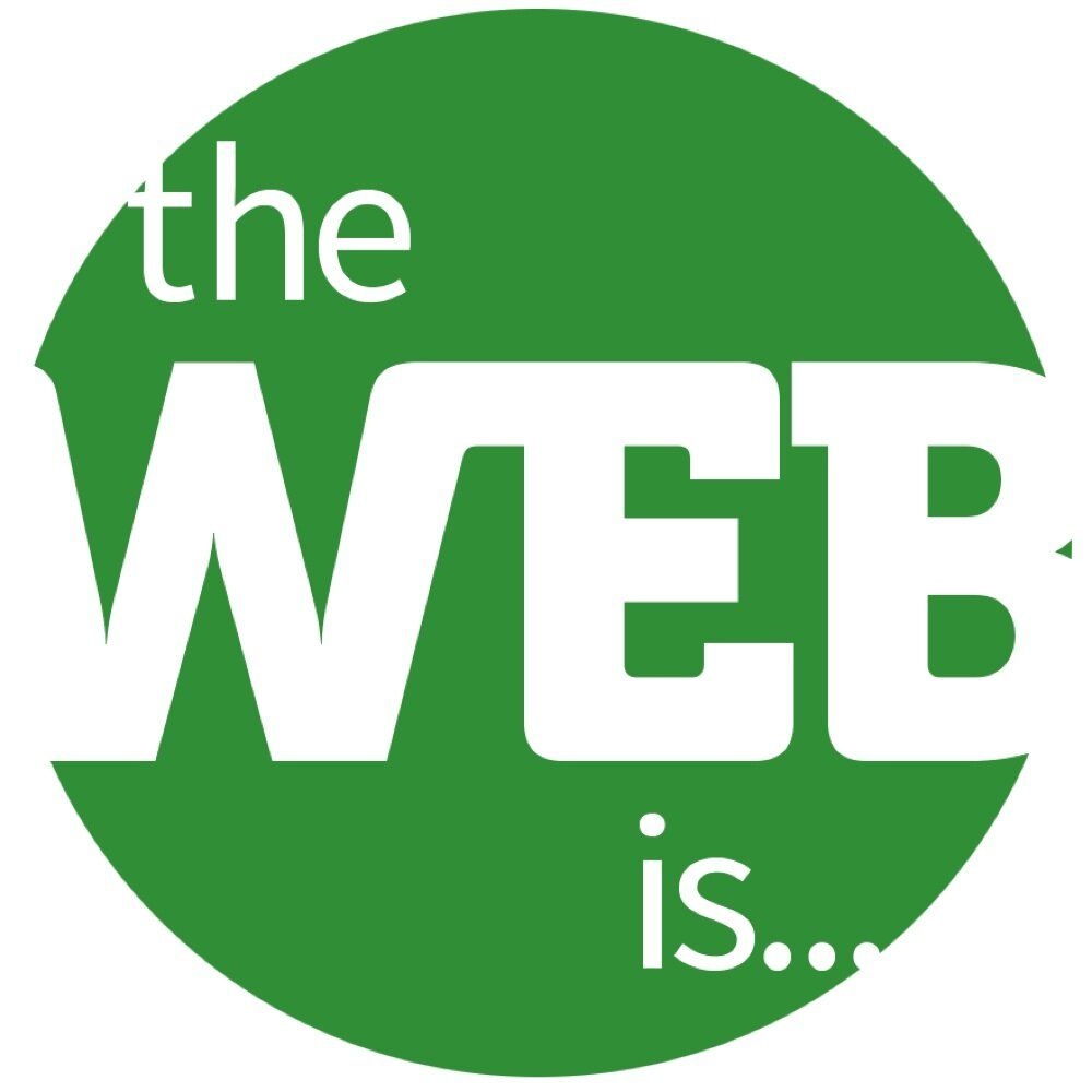 The Web Is… logo
