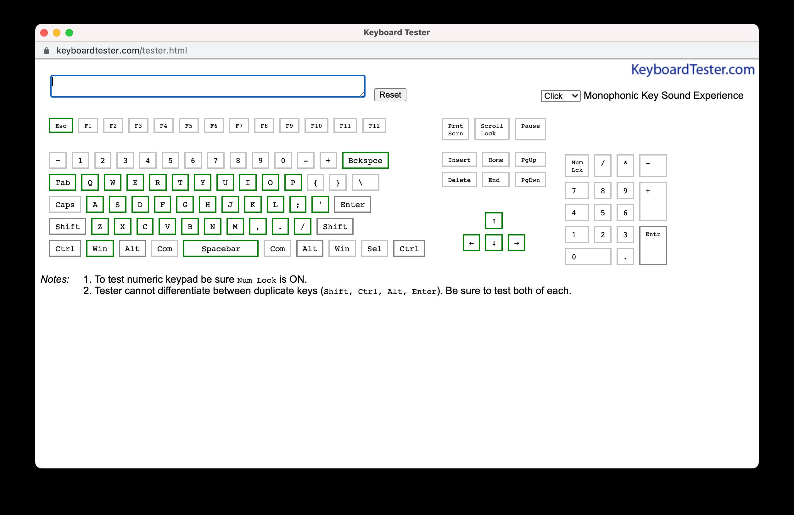 KeyboardTester.com