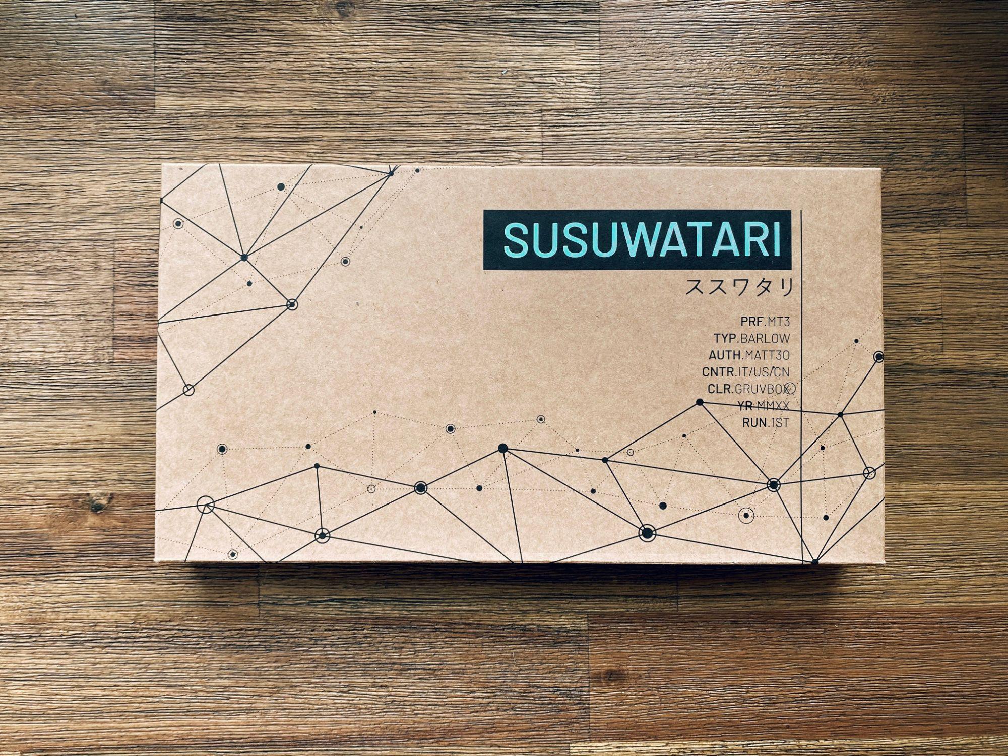Drop + Matt3o MT3 Susuwatari Custom Keycap Set box