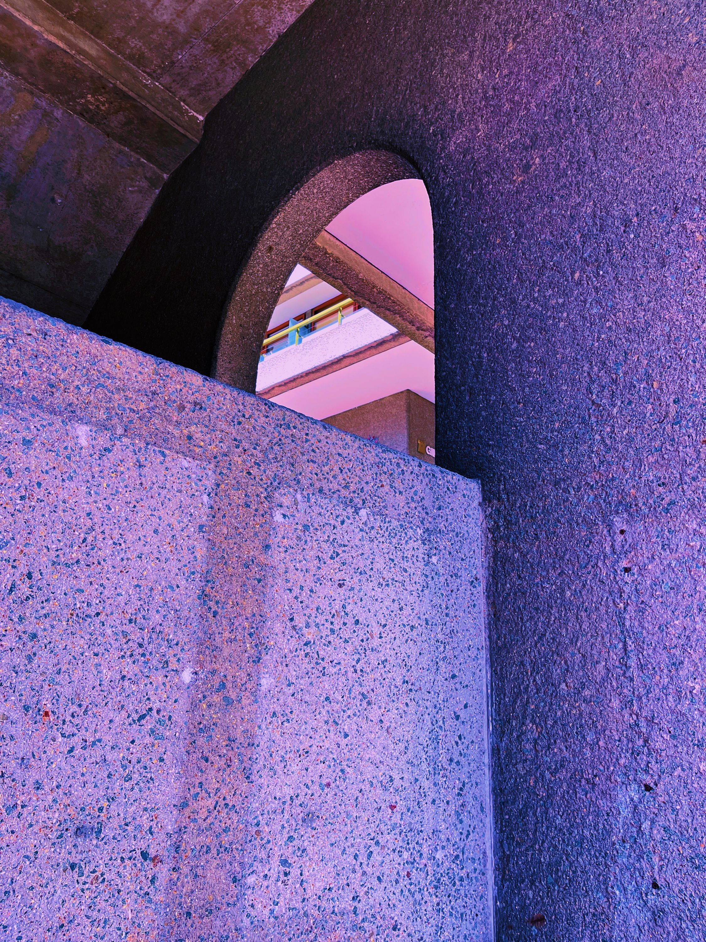Arches and stairways
