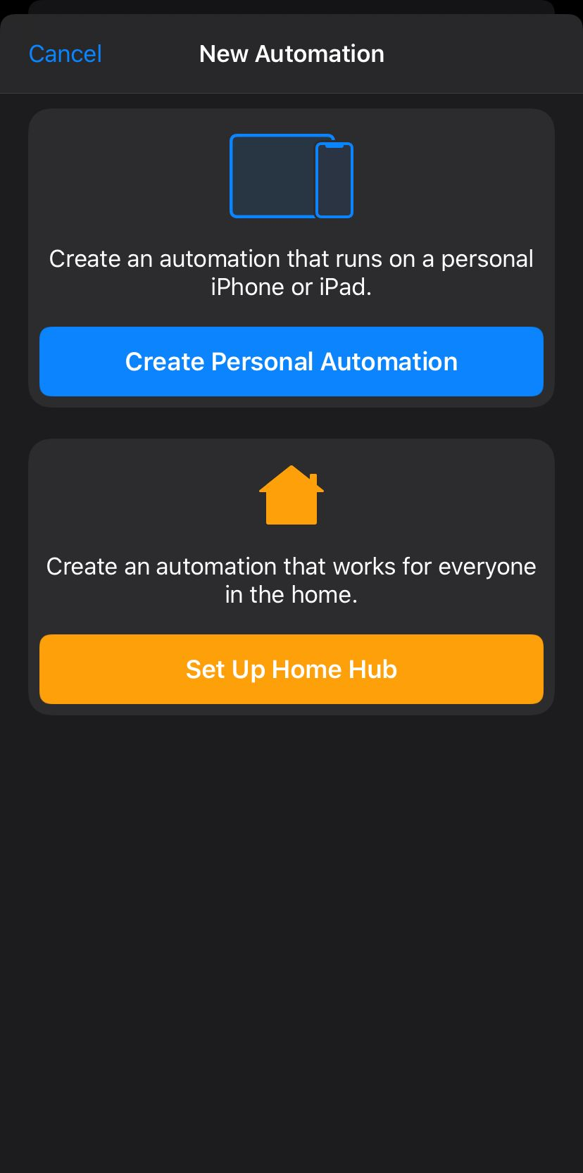 Automation Tab
