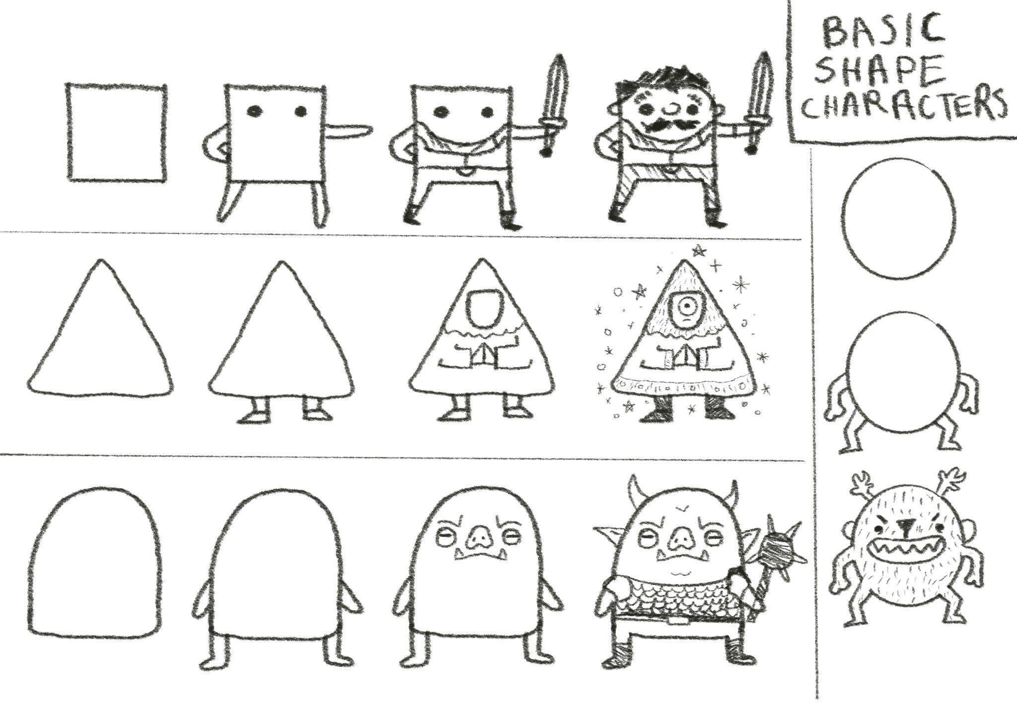 Basic Shape Characters
