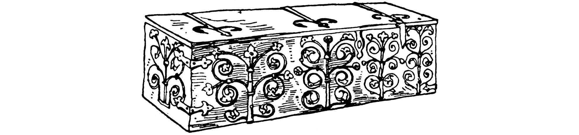 ornate chest