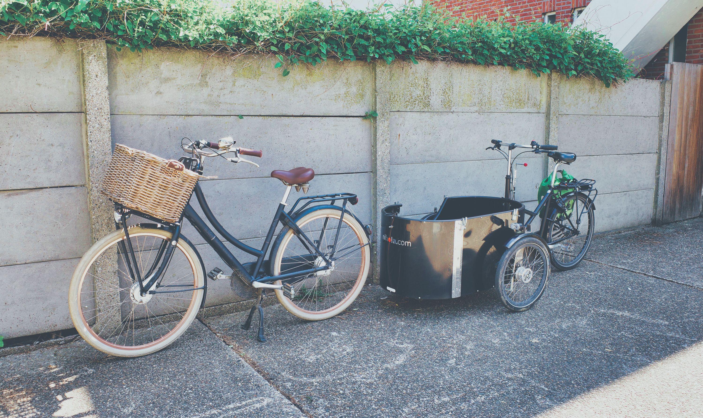 Met de fiets naar de kaakkliniek