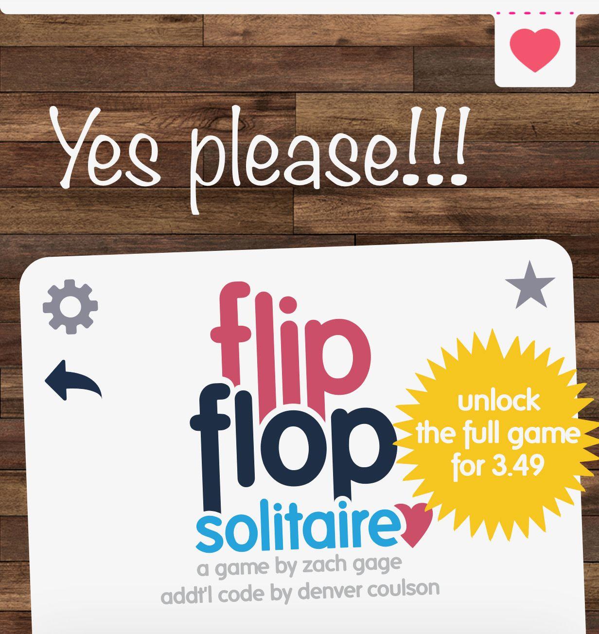 Flip Flop Solitaire