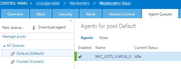 Agent Pool Default