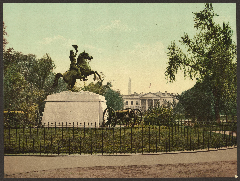 Clark Mills's equestrian statue of Andrew Jackson