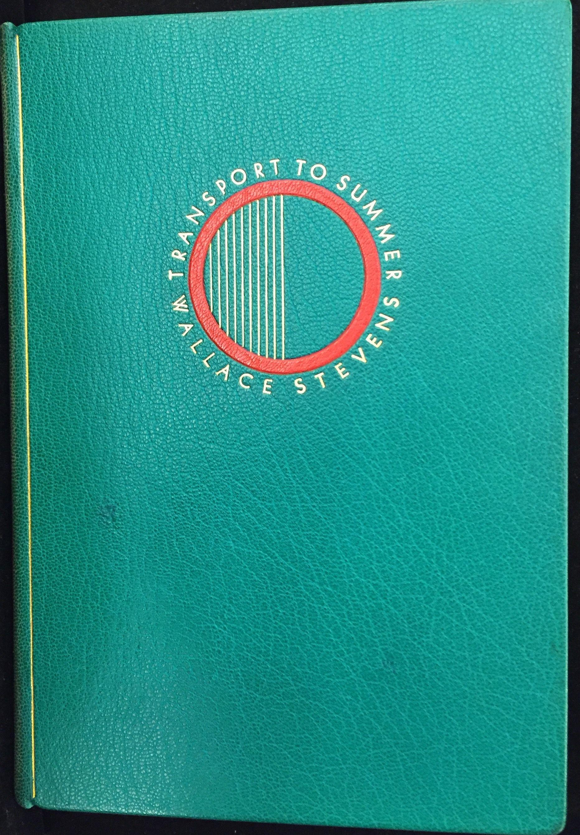 Transport to Summer, 1947, binding by René Aussourd.