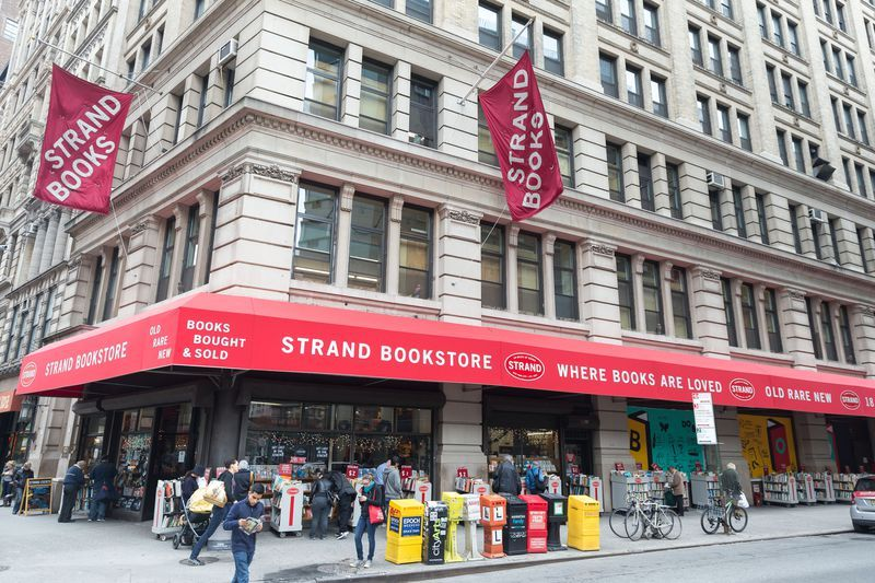 The Strand Bookstore today.