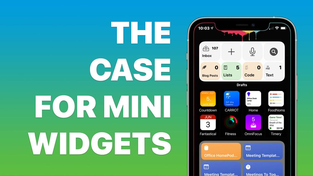 The Case for Mini Widgets Banner Image