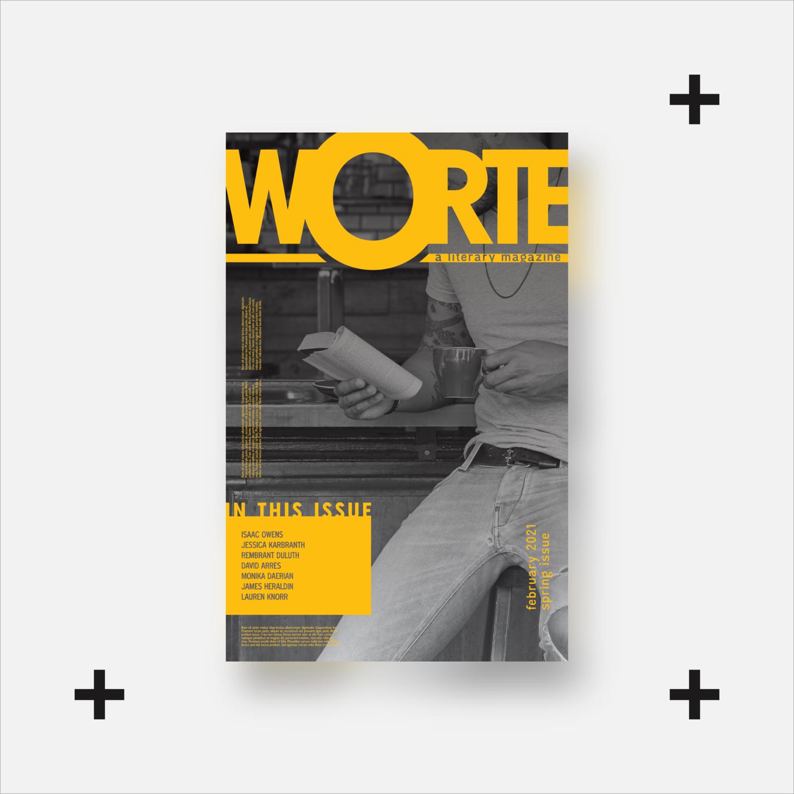 worte literary journal mockup 01