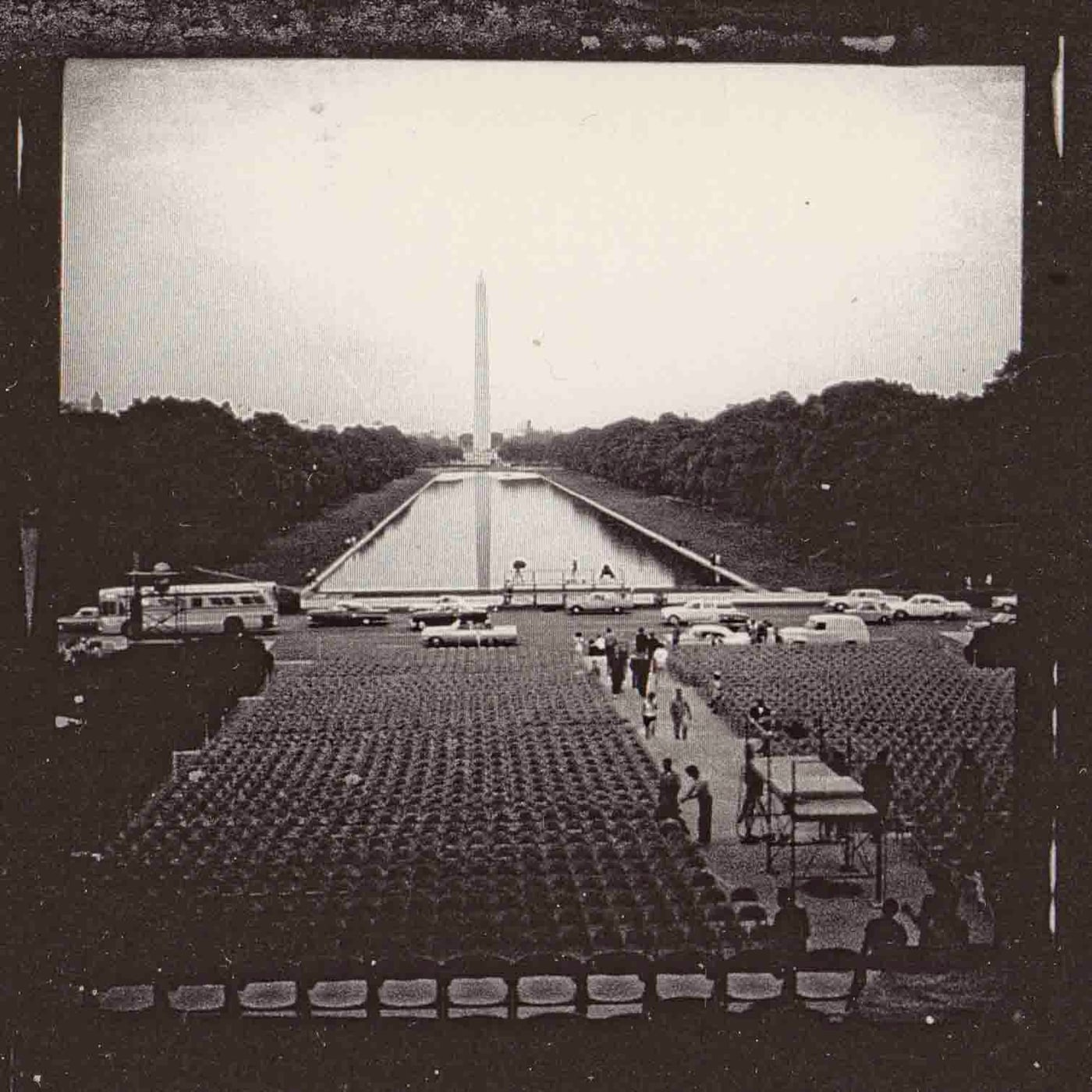 Seating for the March on Washington (Photo by Bob Adamenko)