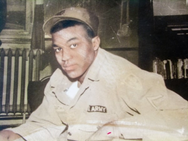 Roman Ducksworth in uniform. The Army Corporal was shot to death by a white Mississippi police officer in 1962. (Courtesy of Cordero Ducksworth and the Syracuse Cold Case Justice Initiative)