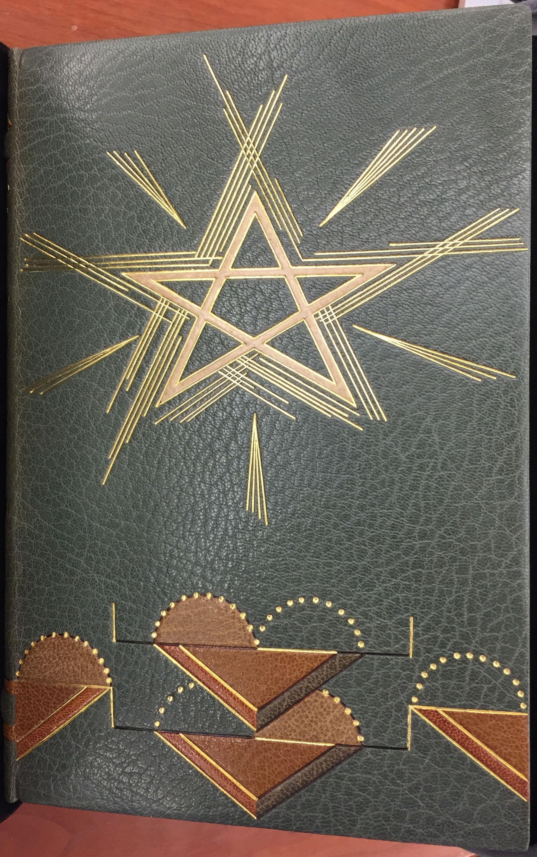 Ideas of Order, 1936, binding by René Aussourd.