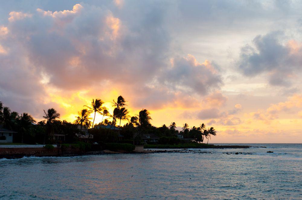 Sunrise at Kuhio Shores
