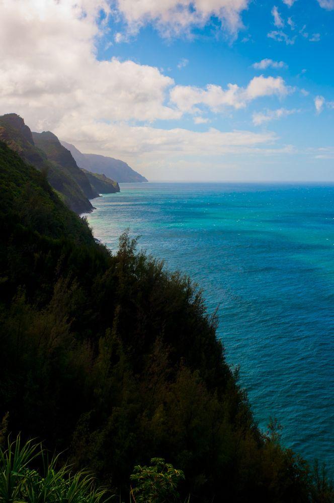 Na Pali Coast from the Hanakapi'ai Trail