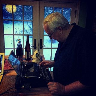 Dad liked my usb typewriter.