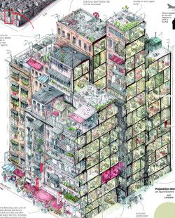 an infographic depicting ife in Kowloon City