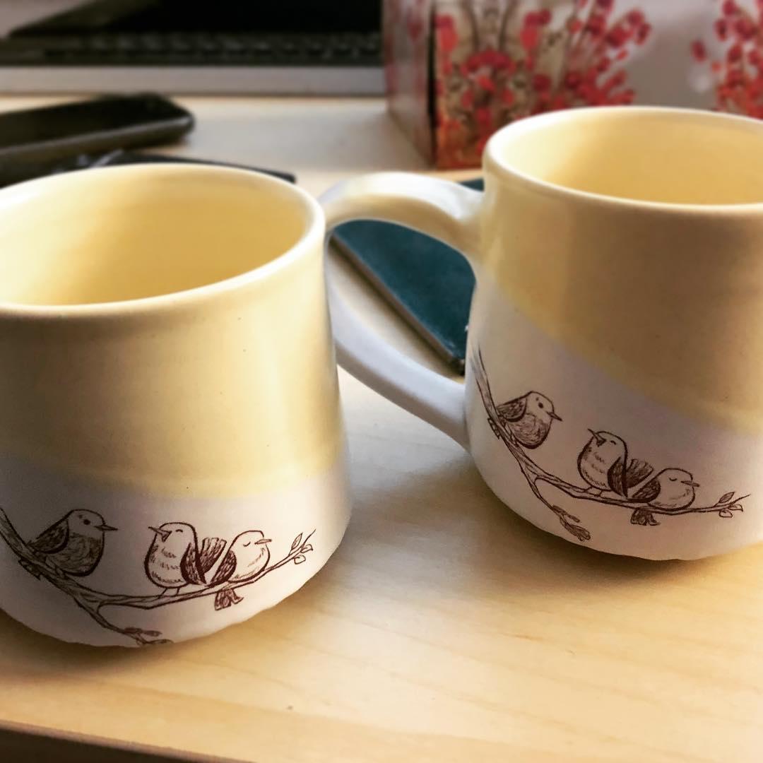 by tiny cat pottery