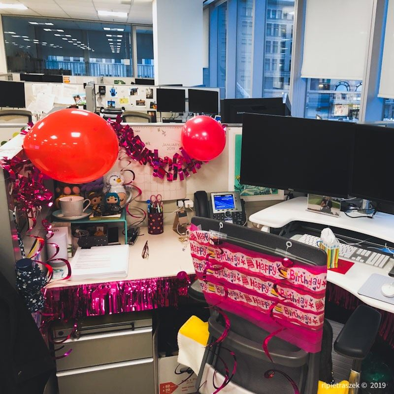 best coworkers - birthday cube