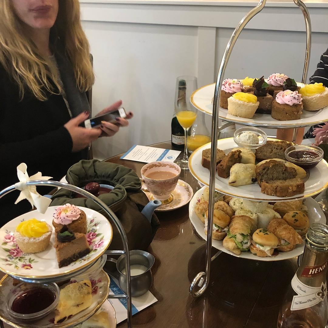 fancy tea in vancouver