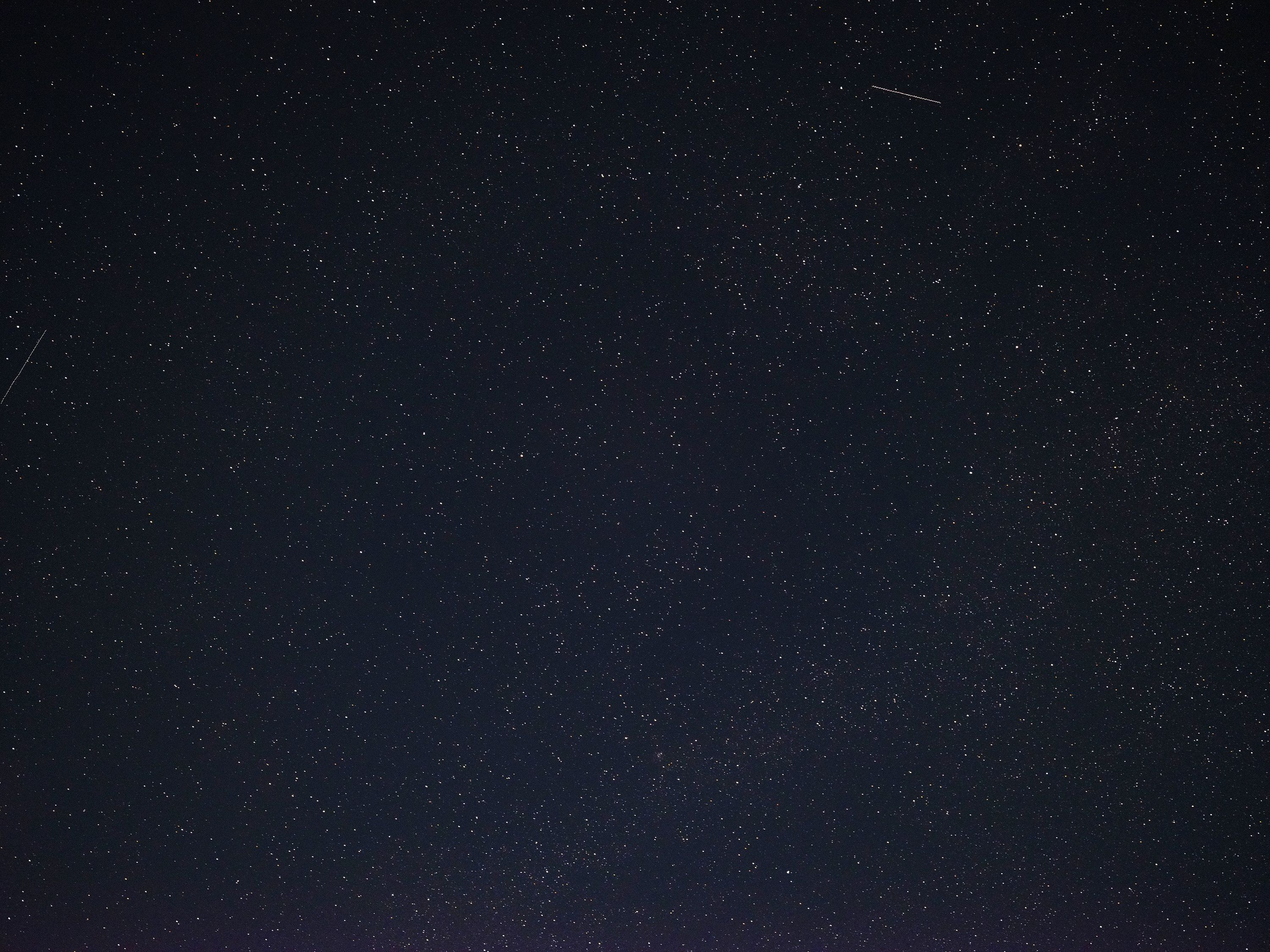 I took a stab at astrophotography with the 23mm too. Why not, right? Not an interesting shot, but man are there ever a lot of stars to look at when you view it 1:1.
