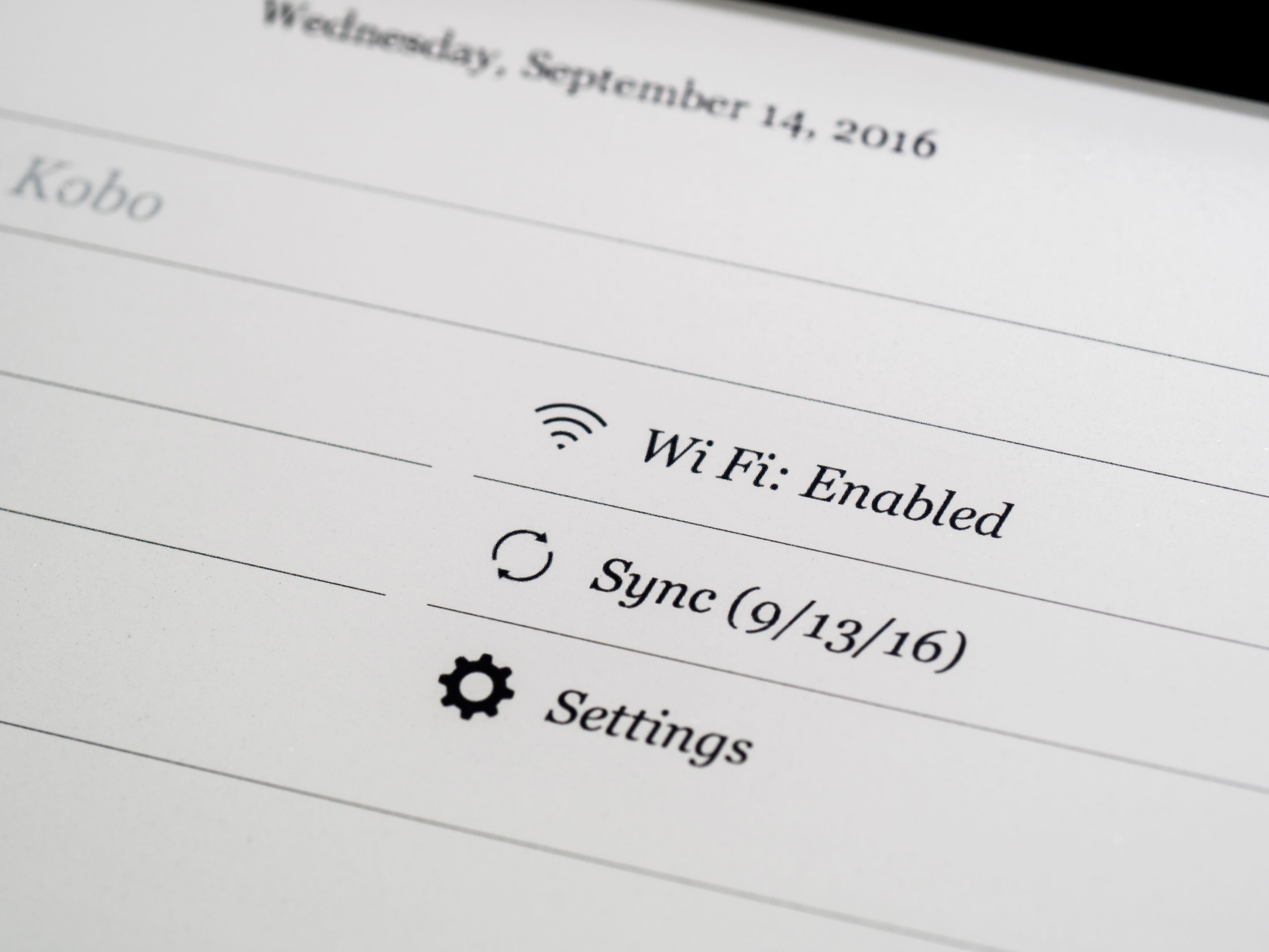 Sync, page turns, and menu navigation are a bit slower on the Aura One than the Kindle Oasis, but the difference is impossible to notice unless you're comparing them directly.