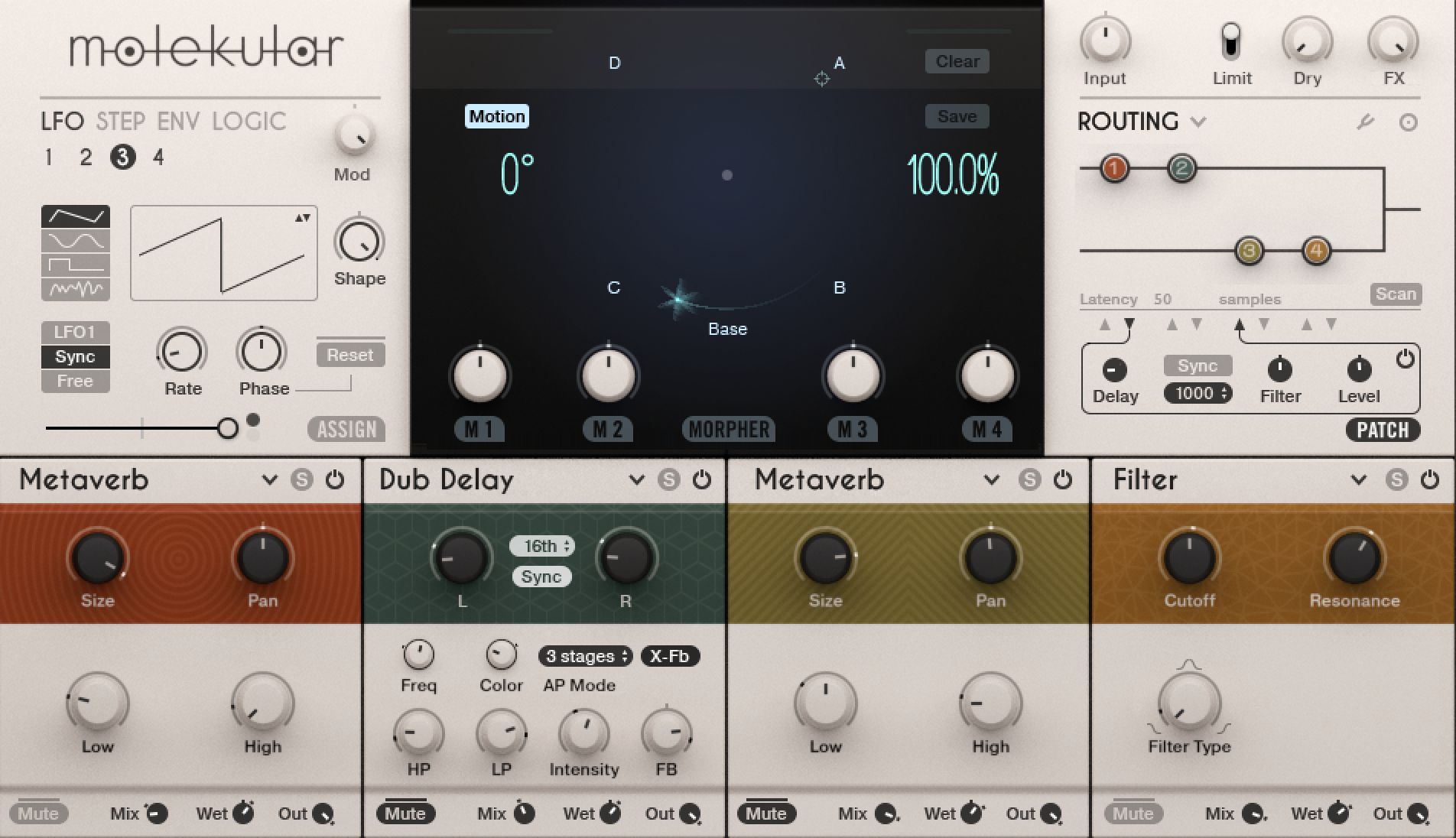 """Molekular is what's called a Reaktor """"ensemble""""; you can think of Reaktor as Minecraft for music tools."""