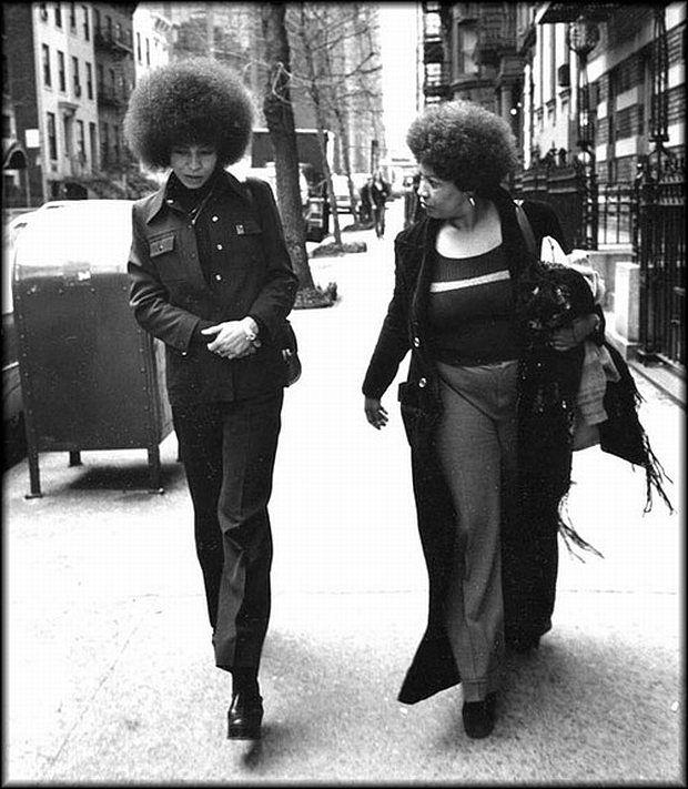 Toni Morrison and Angela Davis