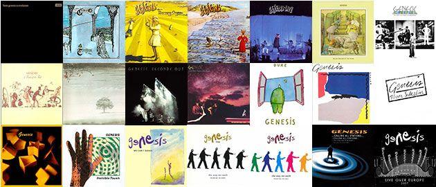Genesis Albums