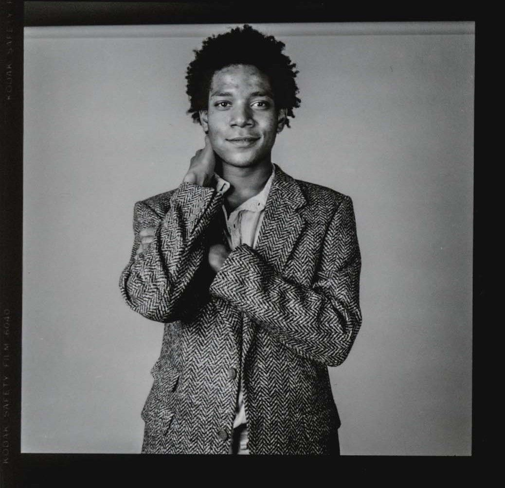 basquiat june 1984 by richard corman