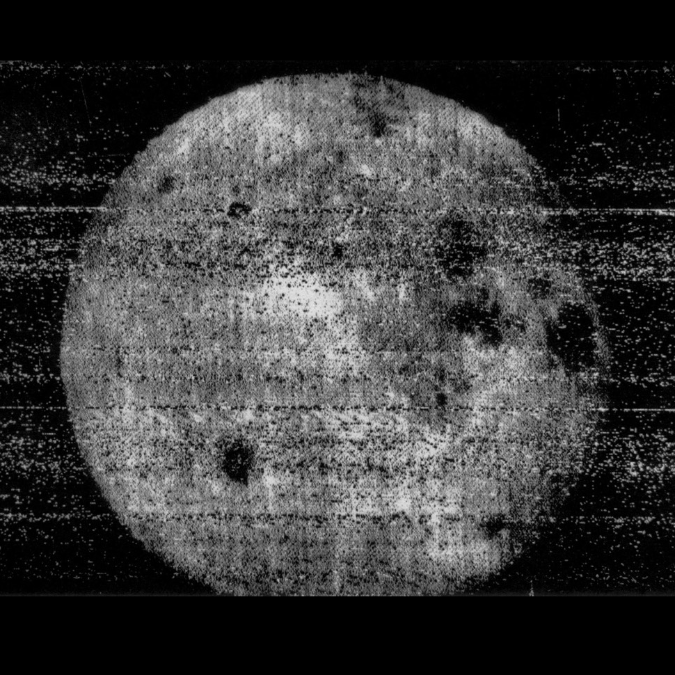 the 'dark' side of the moon in 1959