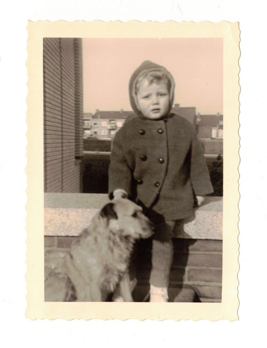 With Leksie, 1960.