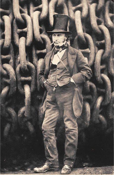 Isambard Kingdom Brunel, * 9. April 1806 in Portsmouth; † 15. September 1859 in London